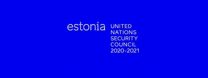 Estonia as an elected member of the UN Security Council 2020-2021