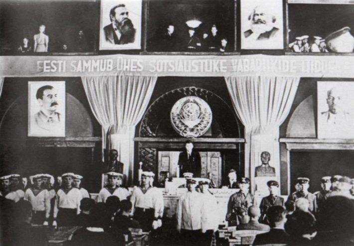 Riigikogu, 1941 Photo: National Archives EFA.205.0.37891