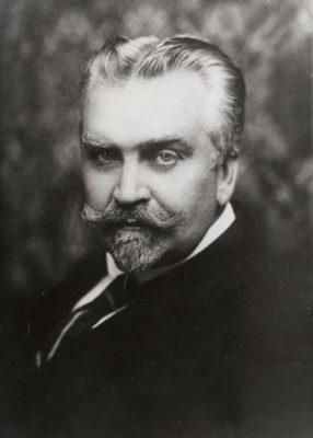 Karl Menning 1919. Foto: Archiv des Außenministeriums