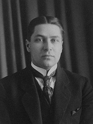 Robert Artur Holst. Foto: Estnisches Nationalarchiv