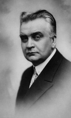 Karl Menning 1924. aastal. Foto: Rahvusarhiiv