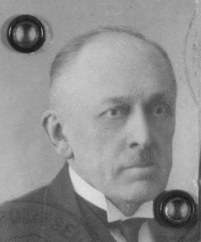 Foto von Arthur Strohms aus dem Reisepass, 1935 Foto: Estnisches Nationalarchiv (ERA.1.3.4556)