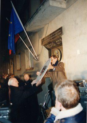 Austria saatkonna avamine 1997. Foto: välisministeeriumi arhiiv, Voldemar Maask