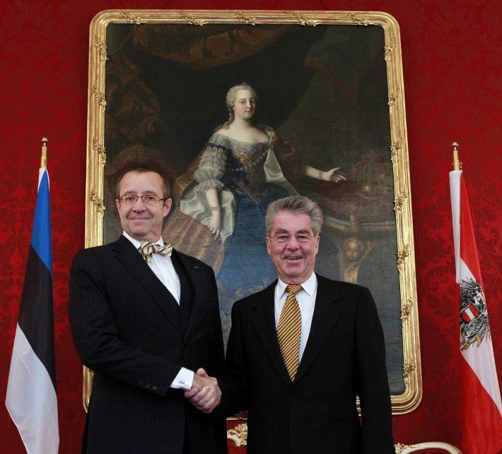President Ilves kohtumas president Fisheriga. Foto: Austria / Dragan Tatic